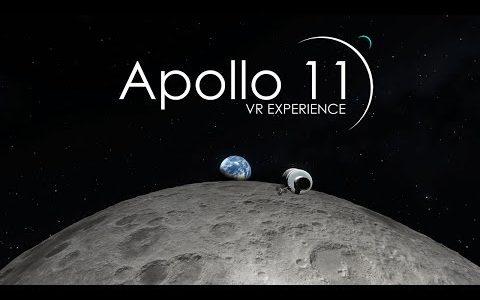 人類史上最もエキサイティングな旅、月面着陸をVRで体験してみませんか?
