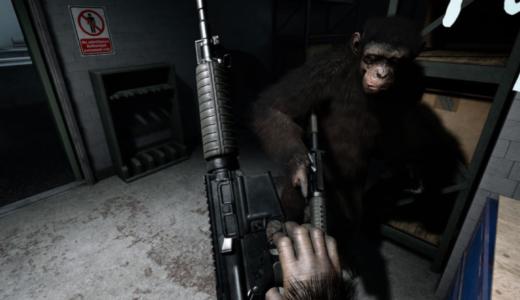 超人気タイトル「猿の惑星」がVRシューティングゲームでついに登場