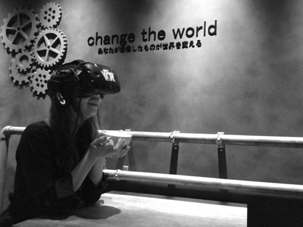 THE VR ROOM KYOTO プロジェクションマッピング