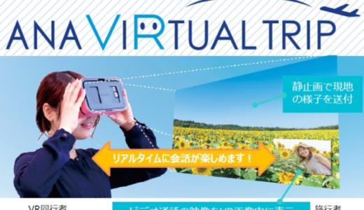 自宅にいながら旅行に参加!!VRが可能にした新しい旅行体験とは?