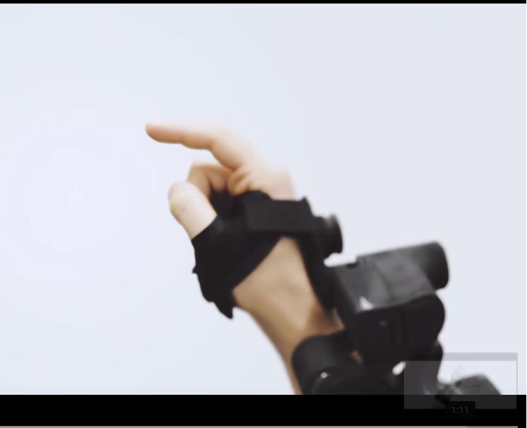 EXOS Wrist DK1 Concept Movie